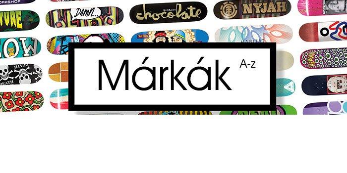 Gördeszka longboard márkák